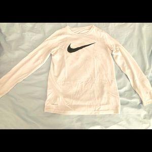 Nike Crew Neck Long-Sleeved Shirt